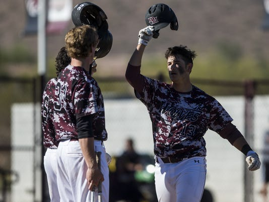 Desert Mountain vs. Basha high school baseball