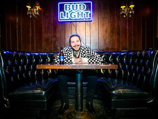 Post Malone Behind The Scenes Before His Bud Light Dive Bar Tour Show in Nashville