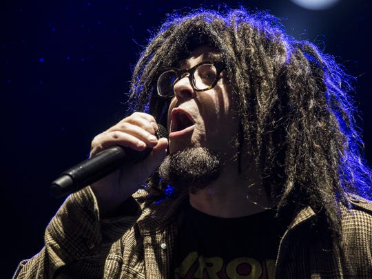 Counting Crows performs during the Innings Festival