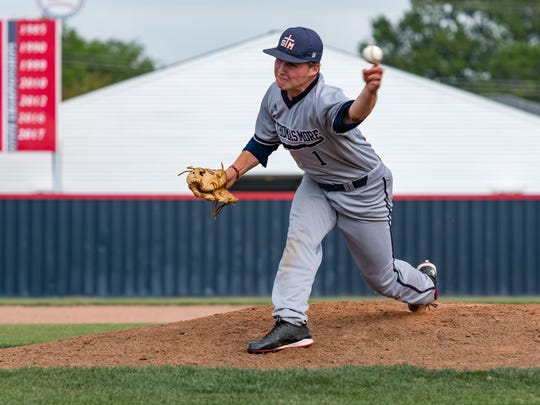 St. Thomas More pitcher Mason Pesson brings an undefeated record into the postseason for the Cougars.