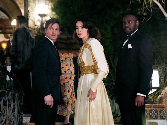 NBC's 'Timeless,' starring Matt Lanter (left), Abigail Spencer and Malcolm Barrett, cheated death last season after it was canceled, then quickly revived, in the wake of its top finish in USA TODAY's 20th Save Our Shows poll. Now it's on the chopping block again.