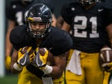 Iowa's Toren Young is a throwback running back ready to be a leader