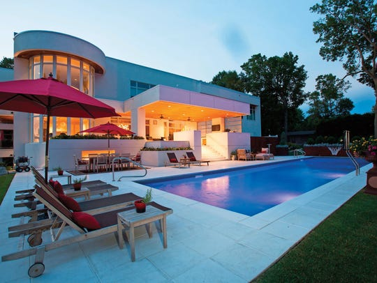 In-ground pools can be customized to include landscape