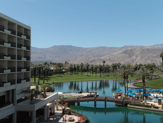 The JW Marriott in Palm Desert, Calif., is beginning
