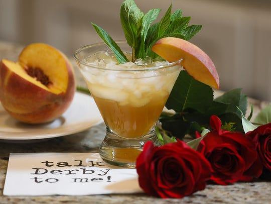 Peach Mint Julep
