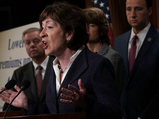 Sen. Susan Collins, R-Maine, and allies had pushed for a health care stabilization package to be included in last month's spending bill.