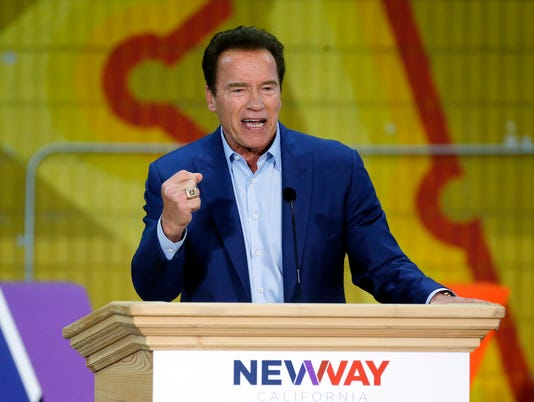 AP SCHWARZENEGGER-REMAKING THE GOP A USA CA