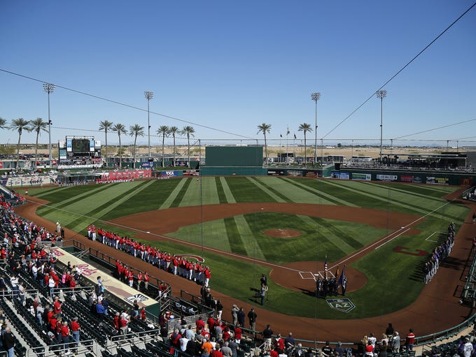 Cincinnati Reds drew 65,975 fans to Goodyear Ballpark