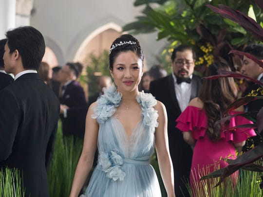 "Economics professor Rachel Chu (Constance Wu) learns her boyfriend comes from a world of wealth in the romantic comedy ""Crazy Rich Asians"" (Aug. 17)."