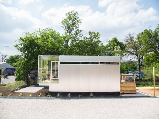 Pre fab micro houses visit reno to attract corporate buyers for Accessory dwelling unit austin