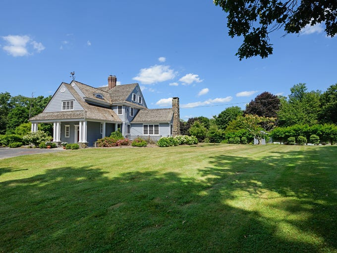 The home in Highland Mills, NY is now owned by actor