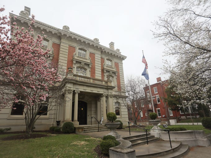 The Ferguson Mansion is in the heart of Old Louisville's