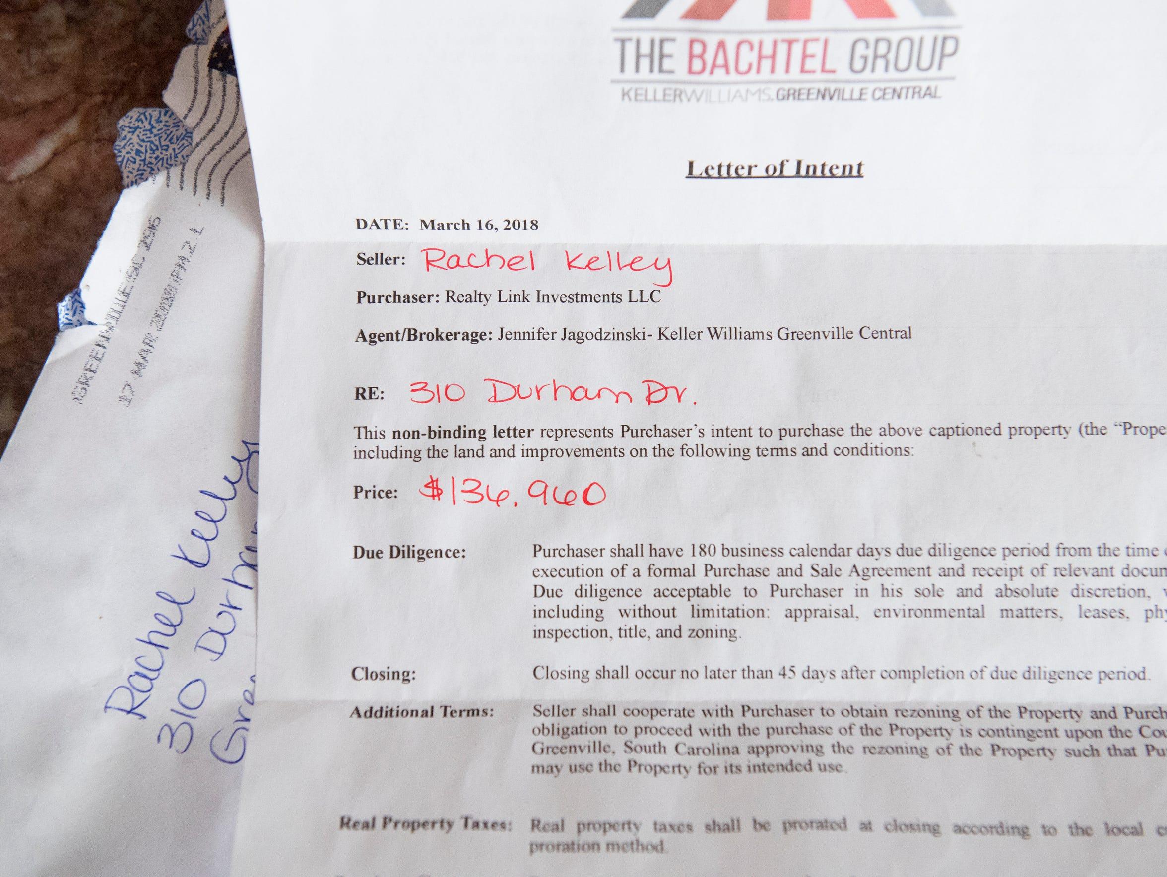 A letter of intent from Top Golf Developer Neil Wilson
