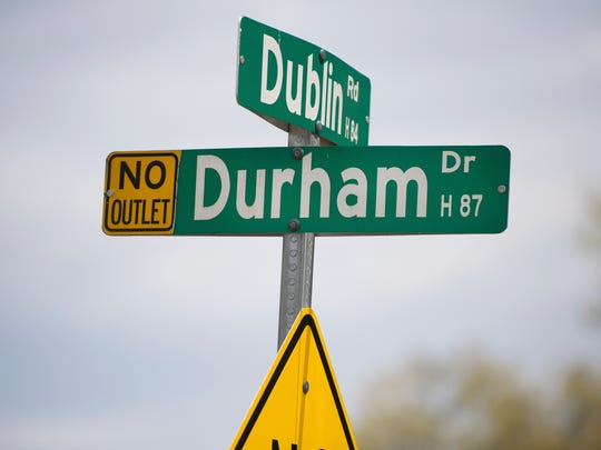 Durham Drive intersects with a popular cut-through,