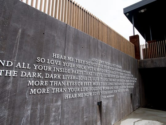 The National Memorial for Peace and Justice in Montgomery,
