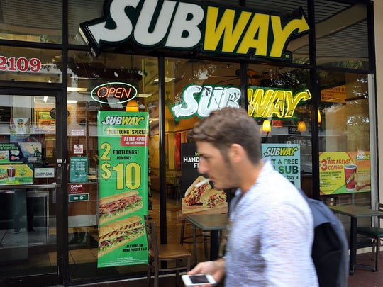 Subway Restaurants is planning to shutter an estimated 500 locations in the U.S.