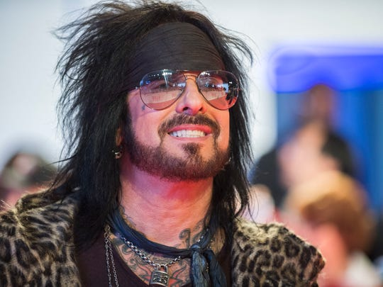 """Nikki Sixx attends the premiere for """"Long Time Running"""" on day 7 of the Toronto International Film Festival, at Roy Thomson Hall on Wednesday, Sept. 13, 2017, in Toronto. (Photo by Arthur Mola/Invision/AP)"""