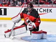How much of a chance will Carter Hart get to make NHL next season?