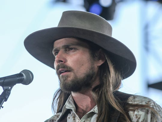 Lukas Nelson & Promise of the Real at the Stagecoach Country Music Festival at Empire Polo Club on April 29, 2018.