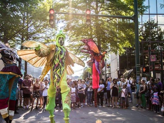 The last day of Festival International de Louisiane