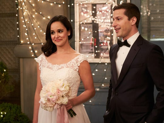 Will wedding bells for Jake (Andy Samberg) and Amy