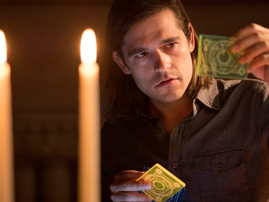 Jason Ralph stars as magical grad student Quentin Coldwater
