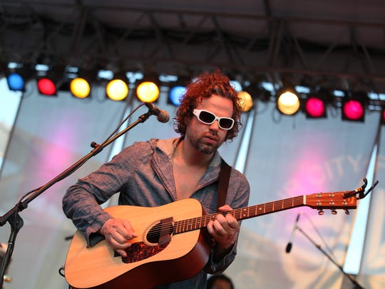 File photo: Rusted Root, fronted by Michael Glabicki, plays the Lilac Festival.