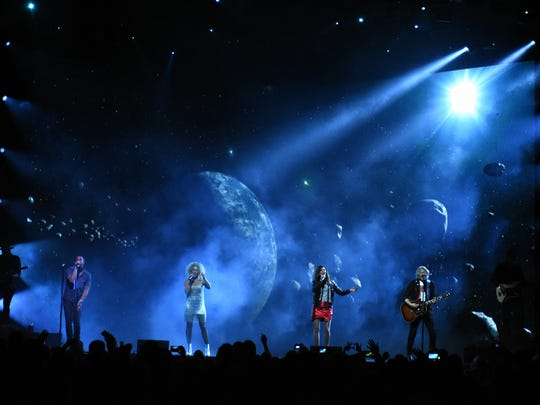 Little Big Town played the last show of its The Breakers Tour on Saturday at Germain Arena.