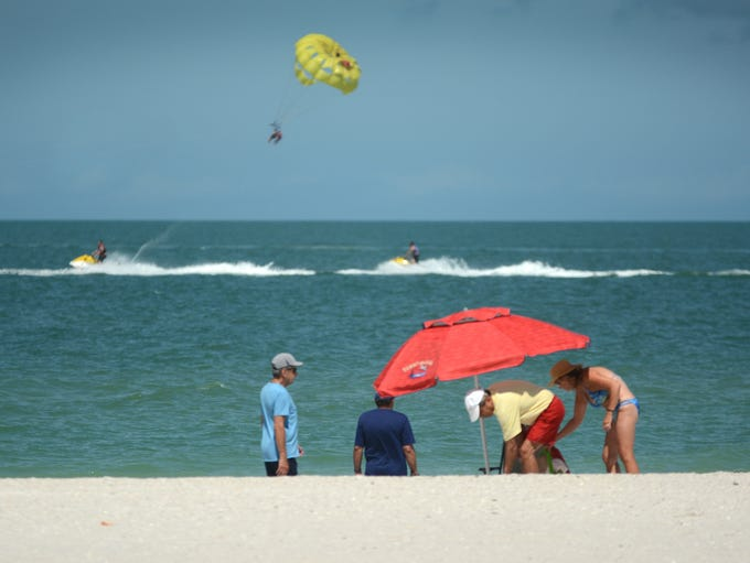 Diversions include Jetskis, parasailing, paddle board