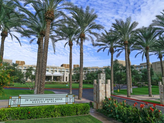 The JW Marriott Phoenix Desert Ridge Resort & Spa.