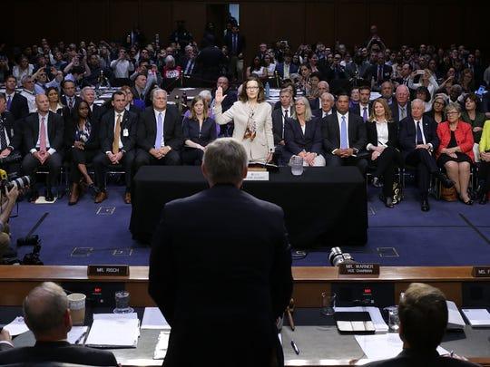 CIA Intelligence Agency Deputy Director Gina Haspel