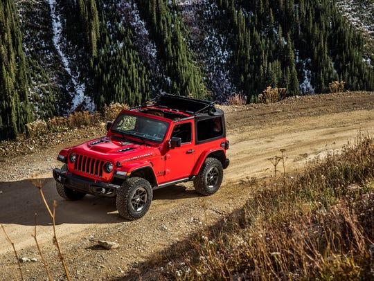 The 2018 Jeep Wrangler Rubicon.