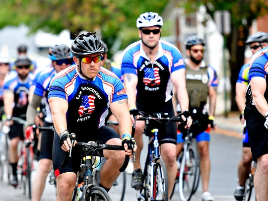 Annual Law Enforcement United Ride for Hope riders