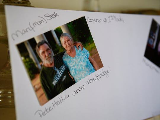 A photograph of Steve and Mary Payne inside Steve's home on Wednesday, May 9, 2018.