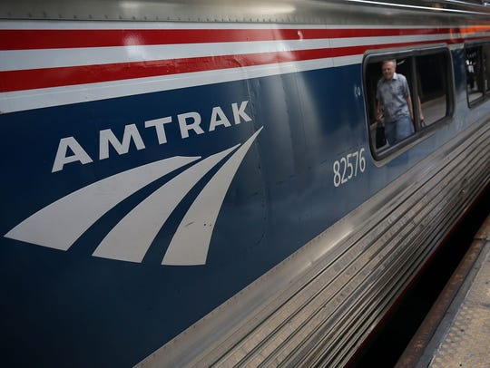 Amtrak train (Enquirer file)