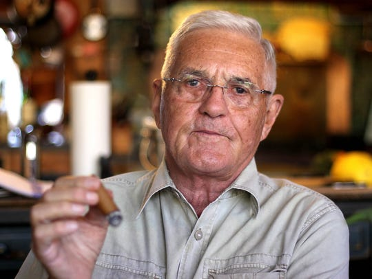 Bob Lutz at home in Ann Arbor, Mich. He has held top