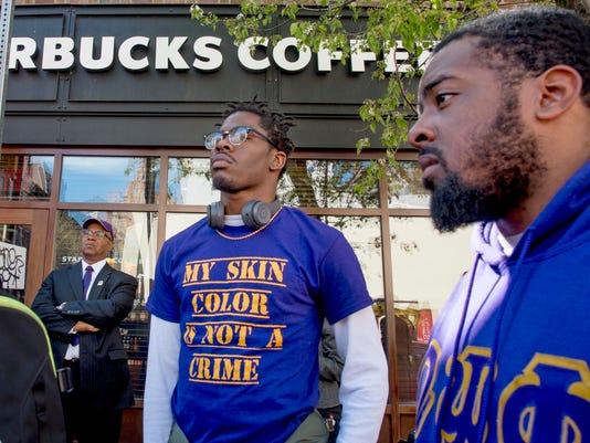 AP STARBUCKS-BLACK MEN ARRESTED A USA PA
