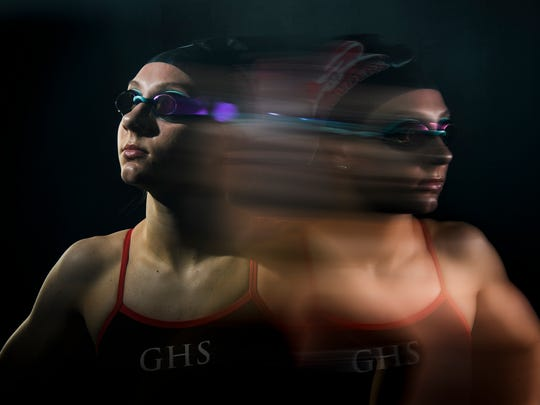 Anna Haven Rice of Greenville High School is the 2017-18 Greenvile News Upstate Sports swimmer of the year.
