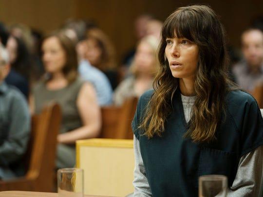 Jessica Biel as Cora Tannetti on 'The Sinner.'
