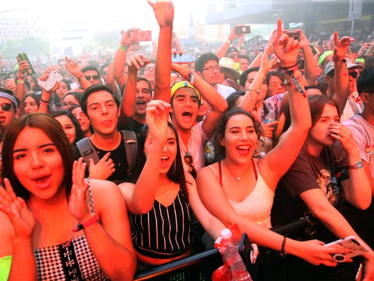 The Neon Desert Music Festival will be Saturday and Sunday near City Hall.