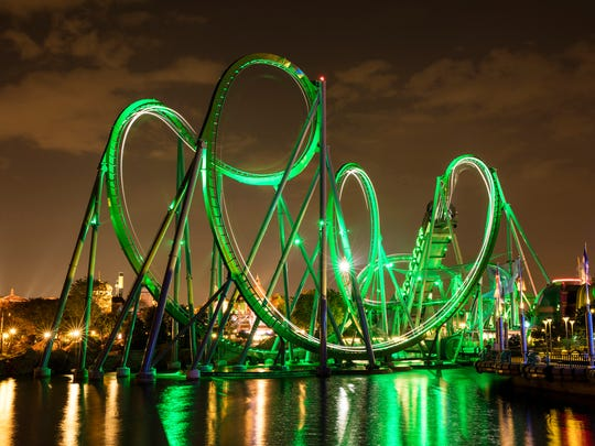 The Incredible Hulk Coaster now features thrilling