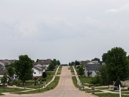Iowa's fastest growing city, Tiffin, saw its population