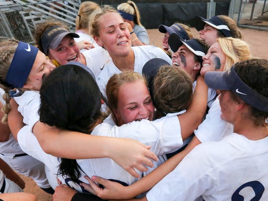 Decatur Central knocked off top-ranked Center Grove in Saturday's Class 4A softball semistate.