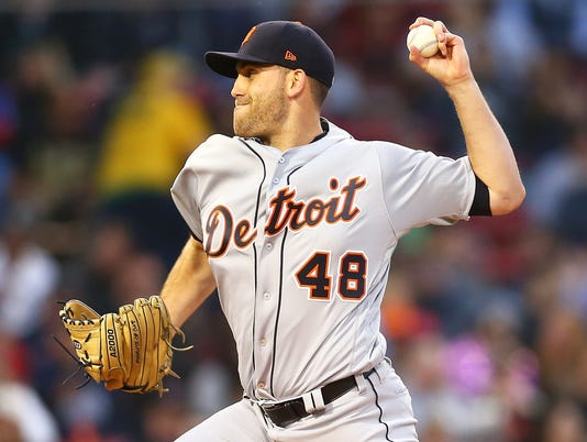 Detroit Tigers v Boston Red Sox
