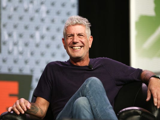AP 2016 SXSW - ANTHONY BOURDAIN KEYNOTE A ENT USA TX