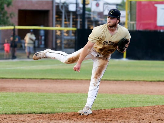 Jared Poland starred on the mound and delivered at the plate for Cathedral on Saturday.