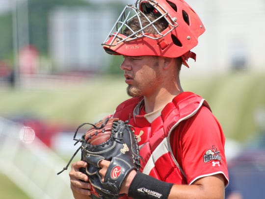 Riverheads' Forrest Shuey will play baseball at EMU next year.
