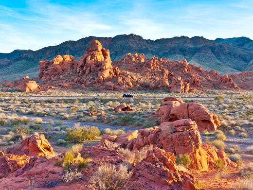 Valley of Fire State Park in Nevada.