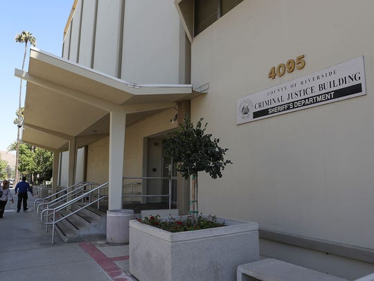 The Riverside County Sheriff's Department Criminal Justice Building in downtown Riverside, June 19, 2018.