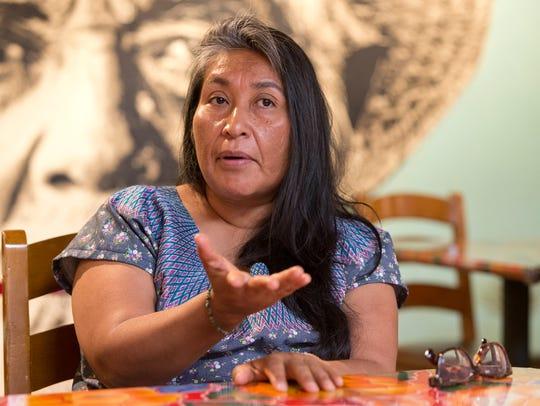 Odilia Romero, a trilingual interpreter in English,